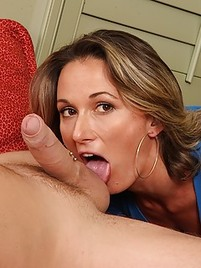 Ball hot licking milf